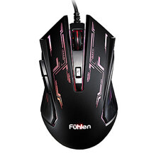 Mouse Fuhlen G60S Optical USB - Gaming.