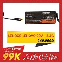 Adapter Laptop Lenoge Lenovo 20V - 4.5A