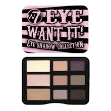 Bảng phấn mắt W7 Eye Want It Eye Shadow Collection