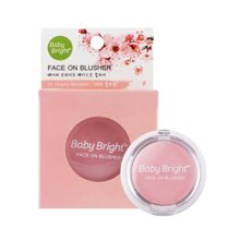 BABY BRIGHT Phấn Má Hồng Baby Bright Face On Blusher 5g #01 Cherry Blossom