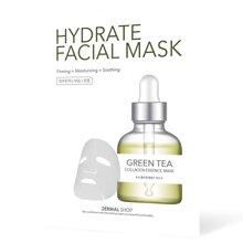 Mặt Nạ Dưỡng Ẩm Chống Lão Hóa Dermal Collagen Hydrate Facial Mask Green Tea