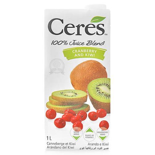 Nước ép trái cây hỗn hợp Kiwi Ceres hộp 1L