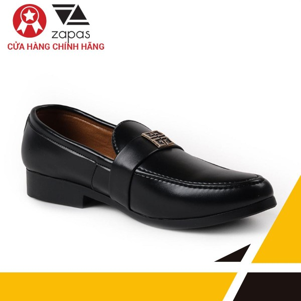Giày Lười Nam Thời Trang Zapas - GL001 (Màu Đen)