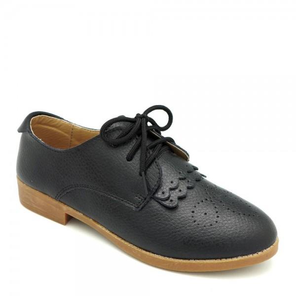 Giày bít mũi Carlo Rino 333050-060-08 màu đen