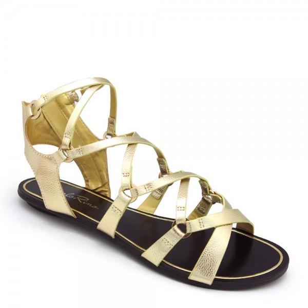 Giày sandal chiến binh Carlo Rino 33370-B004-02 màu gold