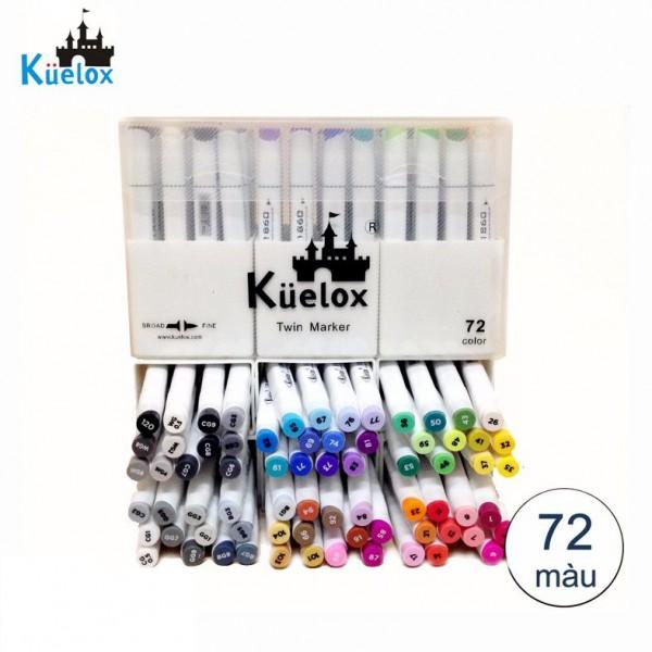 Bút Marker Fine Colour Kuelox Set 72 Màu