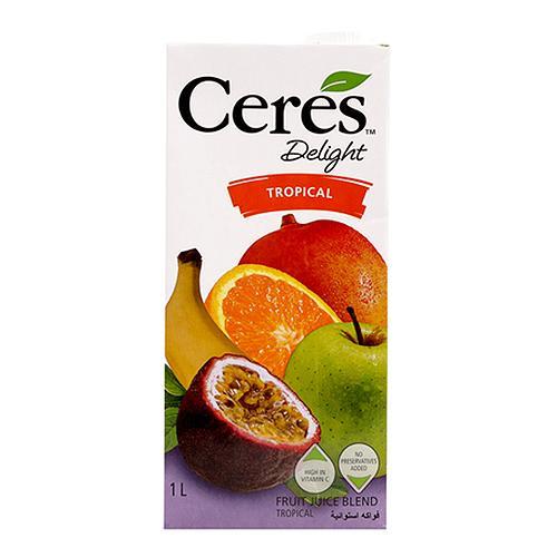 Nước ép hỗn hợp trái cây nhiệt đới Ceres hộp 1L