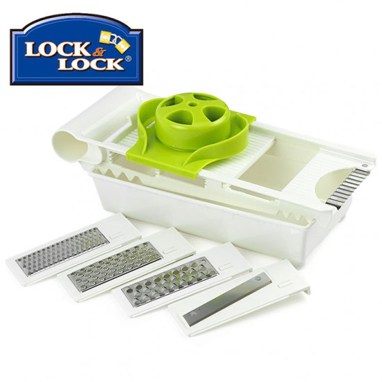 Bộ Dụng Cụ Cắt Gọt Rau Củ 6in1 Lock&Lock Kitchen Grater CKS104
