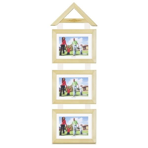 Khung Hình Gỗ Tự Nhiên Treo (3 Khung) 10 x 15 cm