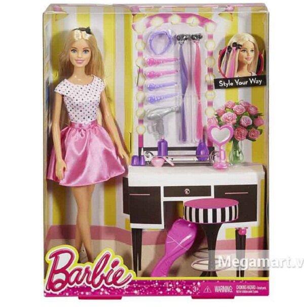 Búp Bê Thời Trang Tóc Barbie DJP92
