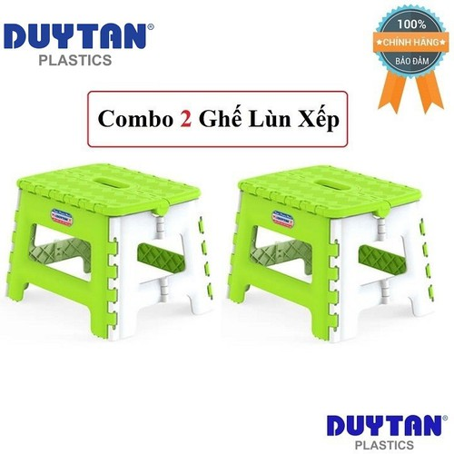 Combo 2 Ghế Lùn Xếp Duy Tân 29.6 x 24 x 21.4 cm No.944
