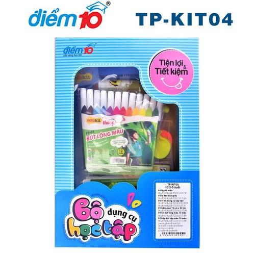 Bộ dụng cụ học tập Điểm 10 TP-KIT - kit4-5-6