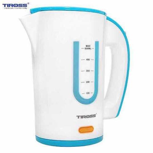 Ấm đun nước siêu tốc 0.6lit Tiross TS1360 Xanh