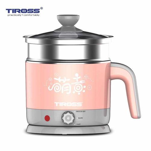 Ca nấu nước đa năng 1.2 lit Tiross TS1366 Hồng