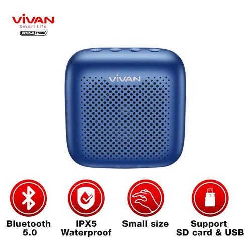 Loa Bluetooth TWS 5.0 VIVAN Chống Nước IPX5