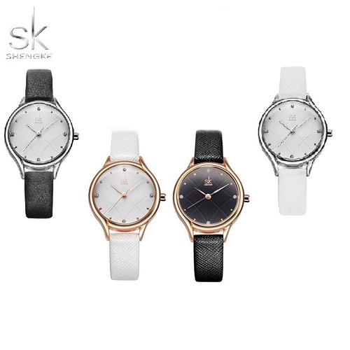 Đồng hồ nữ Chính Hãng Shengke Korea K8013L