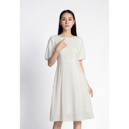 De Leah - Đầm Xoè Tay Bồng - Thời trang thiết kế - VL1824092Tr