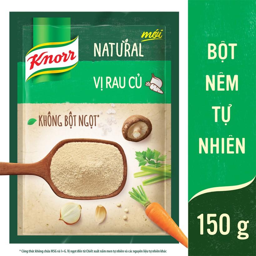 Bột Nêm Tự Nhiên Knorr Natural - Vị Rau Củ 150g